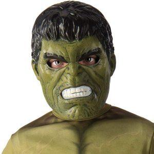 Disfraz de niño de Hulk Mascara