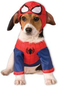 Disfraz para perro de Spider-Man para mascota