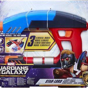 Disfraz de Star Lord de Guardianes de la Galaxia. Arma Starbluster