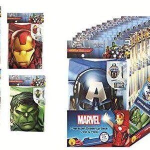 Disfraz de Superhéroe de Marvel Pack de Fiesta 36 uds.