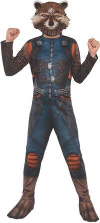 Disfraz de niño de Rocket de Guardianes de la Galaxia