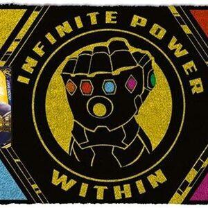 Felpudo Avengers Infinity War Guantelete Thanos