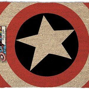 Felpudo Capitan America Simbolo