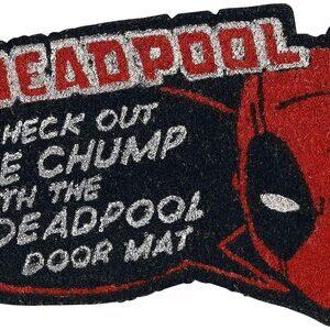 Felpudo Deadpool Chump. El tonto del felpudo