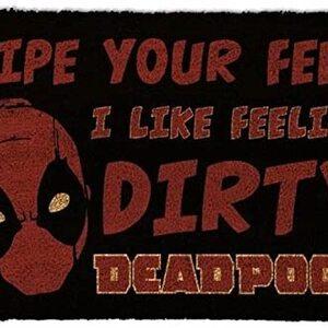 Felpudo Deadpool Dirty