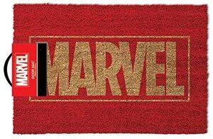Felpudo Marvel Logotipo