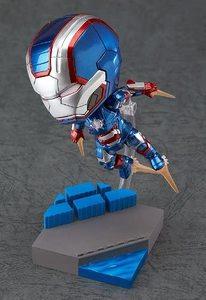 Figura Nendoroid Iron Patriot en Ironman 3