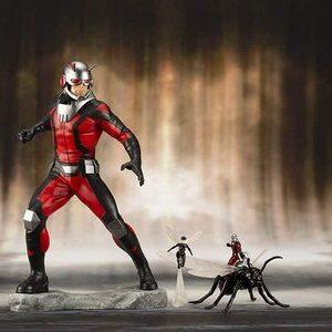 Figura japonesa Kotobukiya Ant-Man y La Avispa