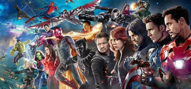 Elige tu vengador favorito Vengadores Marvel