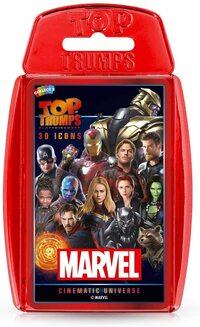 Juego de Cartas Top Trumps Marvel Cinematic Universe
