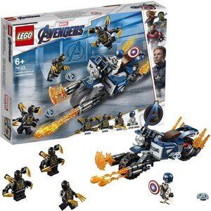 Lego Capitan America. El primer Vengador