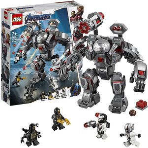 Lego Depredador de Maquina de Guerra. Con War Machine y Ant-Man