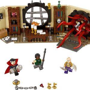 Lego Vengadores Infinity War. Doctor Strange en Sancta Sanctorum con Dr. Strange, Karl Mordo y The Ancient One