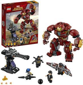 Lego Vengadores Infinity War. Hulkbuster con Bruce Banner, Falcon