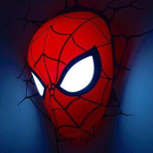 Luz Nocturna de Spider-Man Cabeza 3D
