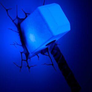 Luz de pared de Thor Mazo 3D