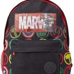 Mochila Escolar con Logo Holográfico de Marvel Comics