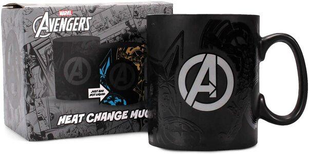S5 Taza Marvel Avengers cambia de color con el calor