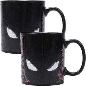 S5 Taza Marvel Spider-Man cambia de color con el calor