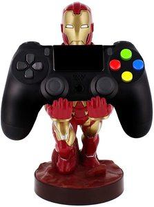 Soporte y carga para mando de consola o Móvil de Ironman