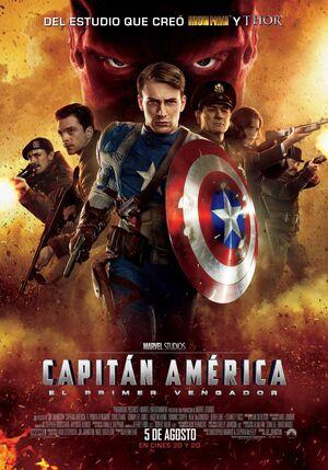 Orden Cronológico Marvel 1 Poster Capitan America. El Primer Vengador