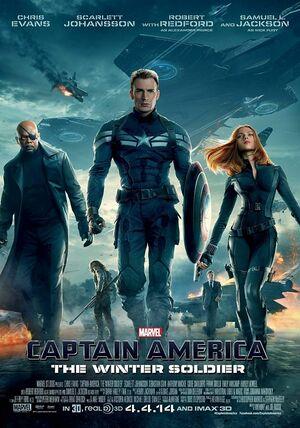 Orden Cronológico Marvel 10 Poster Capitan America. El Soldado de Invierno