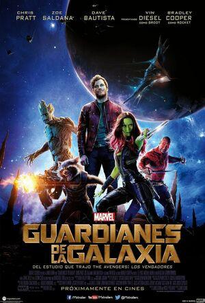 Orden Cronológico Marvel 11 Poster Guardianes de la Galaxia