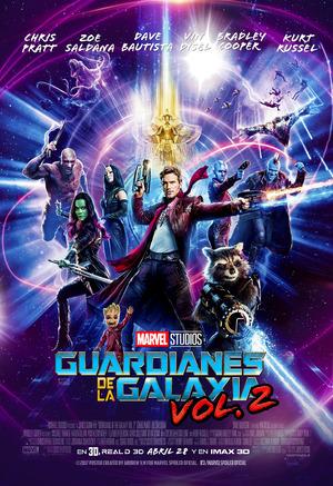 Orden Cronológico Marvel 12 Poster Guardianes de la Galaxia 2