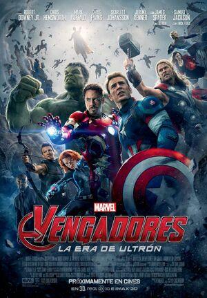 Orden Cronológico Marvel 13 Poster Los Vengadores. La Era de Ultron