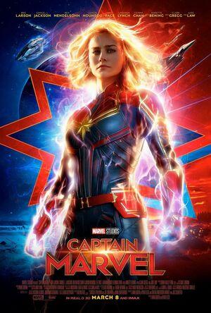 Orden Cronológico Marvel 2 Poster Capitana Marvel