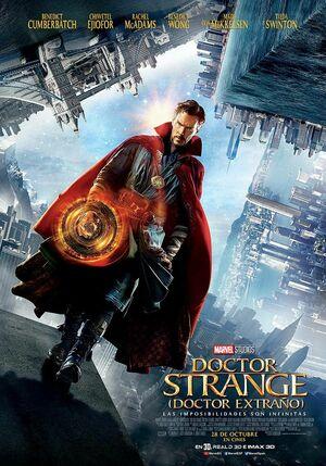 Orden Cronológico Marvel 20 Poster Doctor Strange