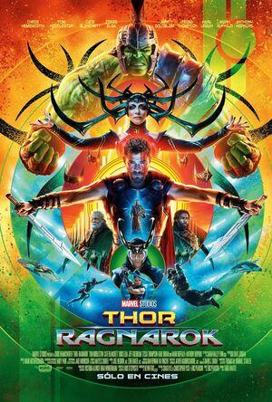 Orden cronológico Marvel 21 Poster Thor. Ragnarok