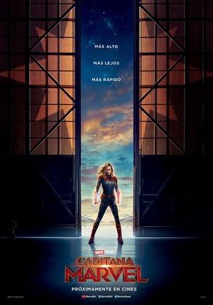 Orden Cronológico Marvel 24 Poster Capitana Marvel escena postcreditos