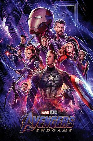 Orden cronológico Marvel 25 Poster Vengadores. Endgame