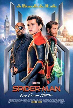 Orden cronológico Marvel 26 Poster Spider-Man Lejos de Casa