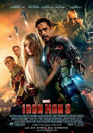 Orden Cronológico Marvel 8 Poster Ironman 3