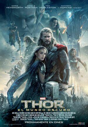 Orden Cronológico Marvel 9 Poster Thor. El Mundo Oscuro