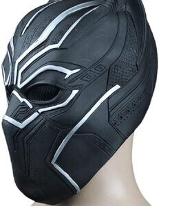 Adulto disfraz de Black Panther mascara