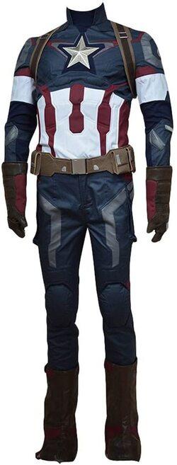 Adulto disfraz de Capitan America la Era de Ultron de lujo