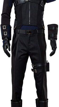 Adulto disfraz de Hawkeye Civil War de lujo