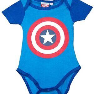 Body para Bebe Capitan America Escudo