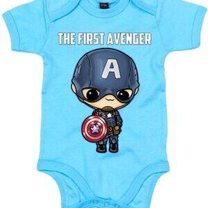 Body para Bebe Capitan America el Primer Vengador