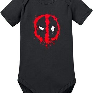Body para Bebe Deadpool Logo