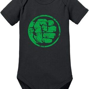 Body para Bebe Hulk Logo