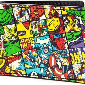 Cartera Marvel Vengadores Comics Retro