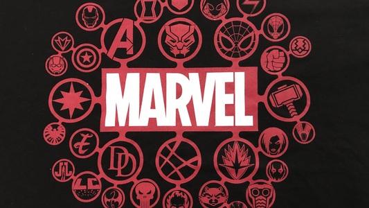 Etiqueta para Marvel
