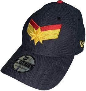 Gorra New Era 39THIRTY Capitana Marvel Logo