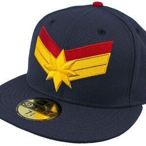 Gorra New Era 59FIFTY Capitana Marvel Logo