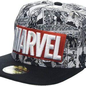 Gorra New Era 9FIFTY Snapback Marvel Comics Logo