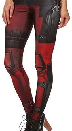 Mallas de mujer de Deadpool Uniforme